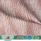 Snake Design Padrão de Materiais em couro sintético artificial de PVC para bolsas de mulheres