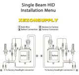 HID H13h/L Kit with Slim Ballast