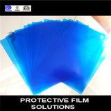 Film transparent bleuté imprimé Film de protection PE Feuille de plastique