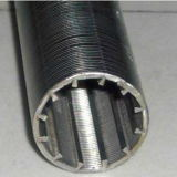 Tipo pantalla del filtro para pozos de Johnson del acero inoxidable 316 del agua/de alambre de la cuña