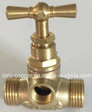 Forged d'ottone Stop Valve con Brass T Handle