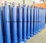 Cilindro de aceite hidráulico telescópico con buen servicio post-venta