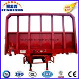 De fábrica do preço 40feet 3 do eixo reboque de trator direto do competidor do caminhão do trator Semi com o lado da gota vendido ao mercado de Vietnam