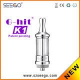Popolare G-Colpire il commercio all'ingrosso del vaporizzatore K1 con il disegno di modo