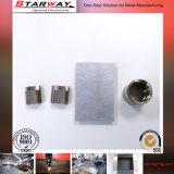 Части изготовления металлического листа с вырезыванием лазера & технологией CNC