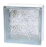 Eis-Schatten-freier Raum Glasc$ziegelstein-glas Block