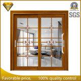 Раздвижная дверь искусствоа стеклянная внешняя алюминиевая для виллы