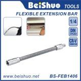 """Barre d'extension flexible en acier chromé au vanadium 1/4 """""""