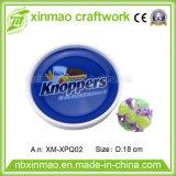 22cm pp. PlastikFrisbee mit Firmenzeichen 1c für Förderung