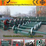 Konkreter elektrischer Pole, der Maschine/konkrete Polen Produktionszweig/konkrete Polen Fabrik bildet