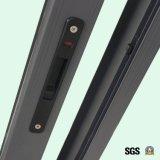 Het poeder Met een laag bedekte Venster van het Aluminium met het Slot van de Klink, Aluminium die Windowm, Venster K01008 glijden