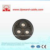3 conducteurs en aluminium câble électrique de base