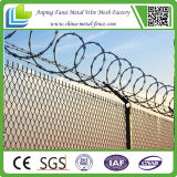 Гальванизированная и PVC Coated звена цепи разделительная стена