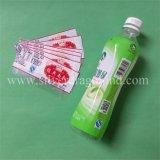 Manchon rétractable PVC/PET pour bouteille de jus
