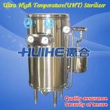 Stérilisateur électrique en acier inoxydable Uht pour le lait