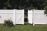 Clôture de jardin et de la comparaison porte
