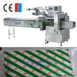 Máquina automática de embalagem de fluxo de papel sanduíche