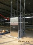Elevación vertical de la plataforma del cargo del almacén (SJD)