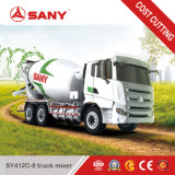 Sany Sy412c-8 12 입방 미터 이동할 수 있는 구체 믹서 트럭 가격