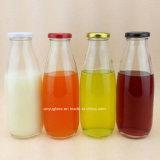 250ml, 500ml, botellas de cristal del jugo de la bebida de la leche 1000ml