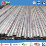 Pipe d'acier inoxydable de Ss304 Ss316L Sch15-80 avec le GV