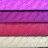 Tissu mou de velours court de pile pour le textile à la maison