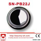 Aus rostfreiem Stahl Höhenruder-Druckknopf mit Spiegel-Oberfläche (SN-PB22J)