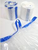 (manufatura) saco de lixo de amarração automático cheio que faz a máquina