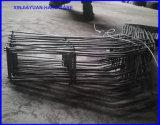 Alambre del zigzag del alambre del meneo del metal del espaciador del refuerzo concreto de la construcción