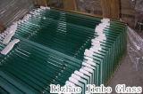 4мм-19мм плоской/сломанных закаленное/закаленного стекла с КХЦ/CE/сертификат SGS (JINBO).