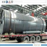 Máquina de óleo de pirólise de 10ton, converte resíduos em óleo