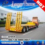 半2つの車軸ユーティリティおよびトラックのトレーラーの価格のための低いベッドのトレーラー