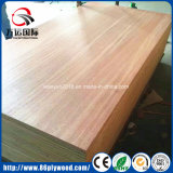 4X8 folheado de madeira da Engenharia Comercial Gurjan laminado de madeira contraplacada