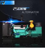 250kw de haute qualité avec auvent Remorque mobile/silencieux Groupe électrogène de la station d'alimentation