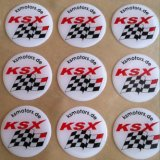 Sticker, Etiket, Epoxy Overkoepelde Sticker (hx-ds-1)