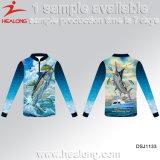 Healong Sportswear Sublimação Completa Jersey Desgaste de Pesca