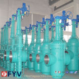 API 6D Gas Flat Gate Valve für Petroleum Natural Gas
