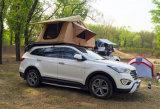 Tenda rivestita della parte superiore del tetto dell'automobile del poliestere della tenda dei 3~4 tetti