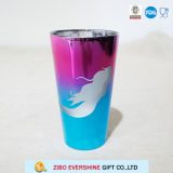 480ml het Glas van de pint met het Overdrukplaatje van de Meermin