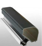 Polvo de aluminio del perfil de la protuberancia que cubre la rotura termal