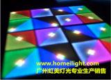 Rvb acrylique blanc 1*1m LED RGB plancher de danse