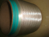 Brilhante branco ótico do fio Cationic do filamento FDY de Polyestger