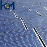 vetro solare con SPF, SGS, iso dell'arco Tempered di uso del modulo di 3.2mm PV