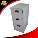 Шкаф для картотеки ящиков хранения металла офиса стальной структуры вертикальный