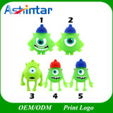 Monster Stick USB Flash Drive USB de PVC de desenhos animados
