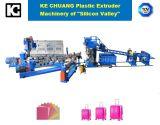 ABS, PC, pp., PS, PET, PMMA Gepäck-einlagiges Platten-Blatt-Plastikextruder-maschinelle Herstellung-Zeile