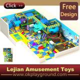 La SGS multifonctionnel de l'équipement de terrain de jeu intérieure pour enfants (T1409-4)