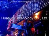 유연한 발광 다이오드 표시 P25/LED 전시 화면 (FLC-1600) /Stage 배경 LED 영상 벽 LED 벽