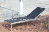 Poly fainéant en bois d'acier inoxydable employant dans le syndicat de prix ferme de Swmming de jardin de plage