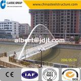 容易な管のトラス中国は速く鉄骨構造のアーチ橋をインストールし、